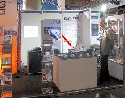 auf der Messe INTEC 2009