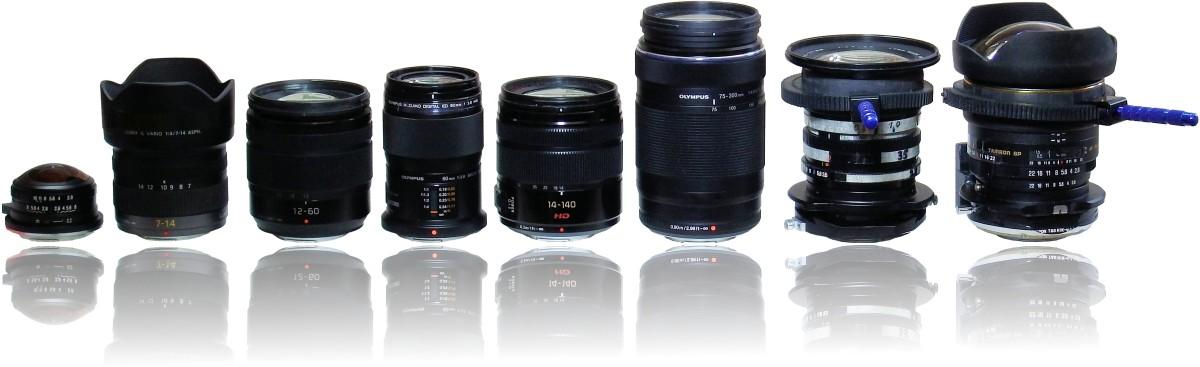 MFT-Wechselobjektive für die Panasonic Lumix G81